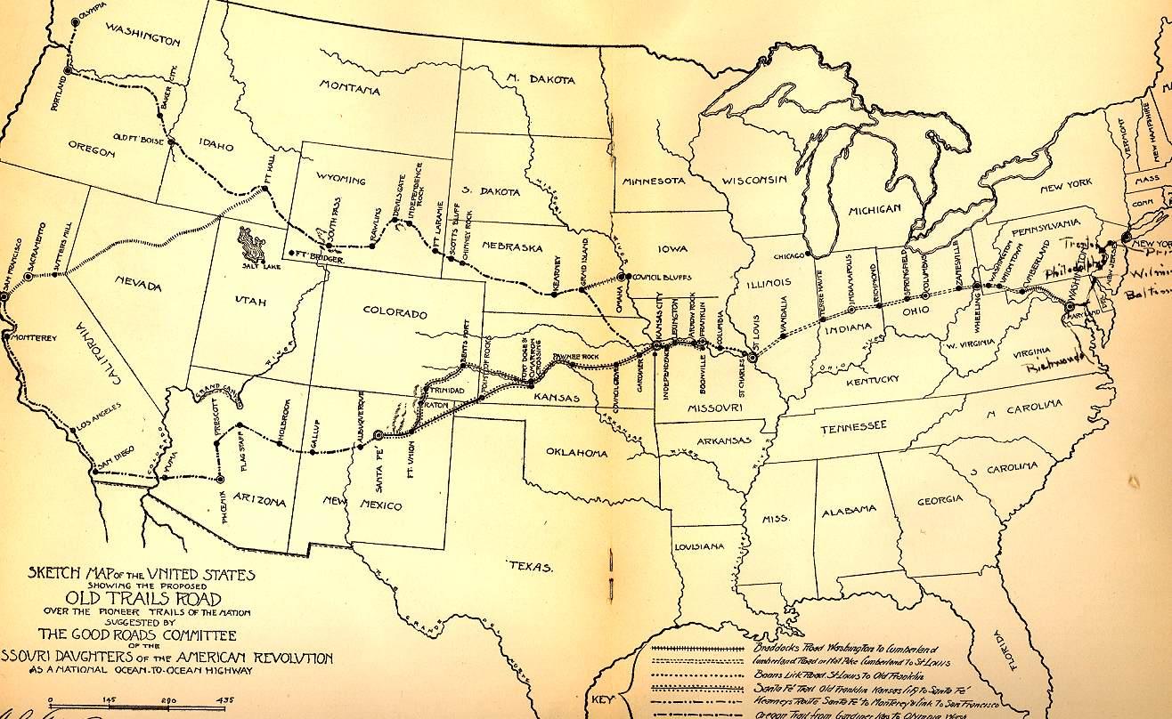 Map Us Highway In Colorado Globalinterco - Map of us trail lines